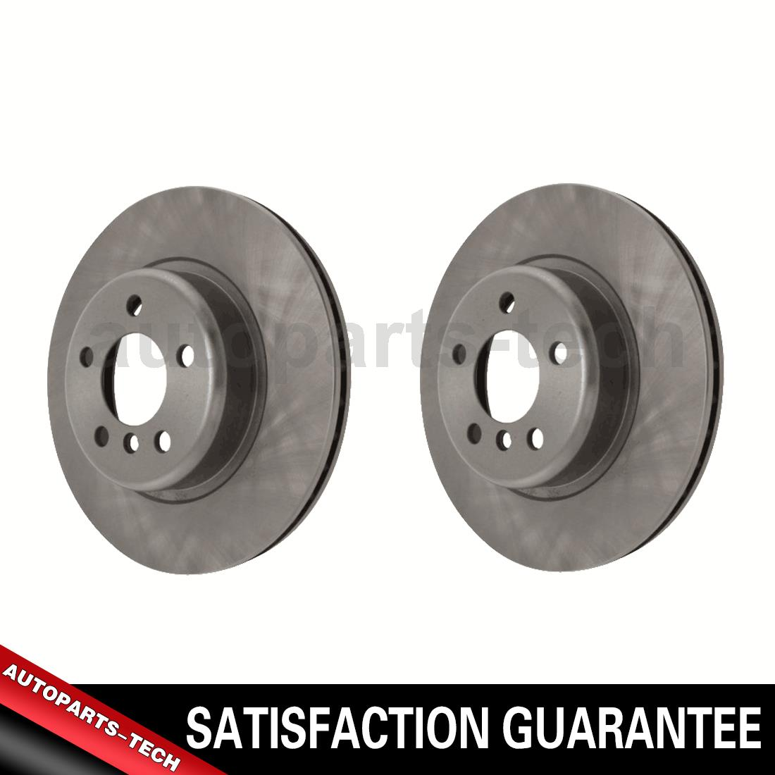 2x Centric Parts Front Disc Brake Rotor For Audi R8 2008