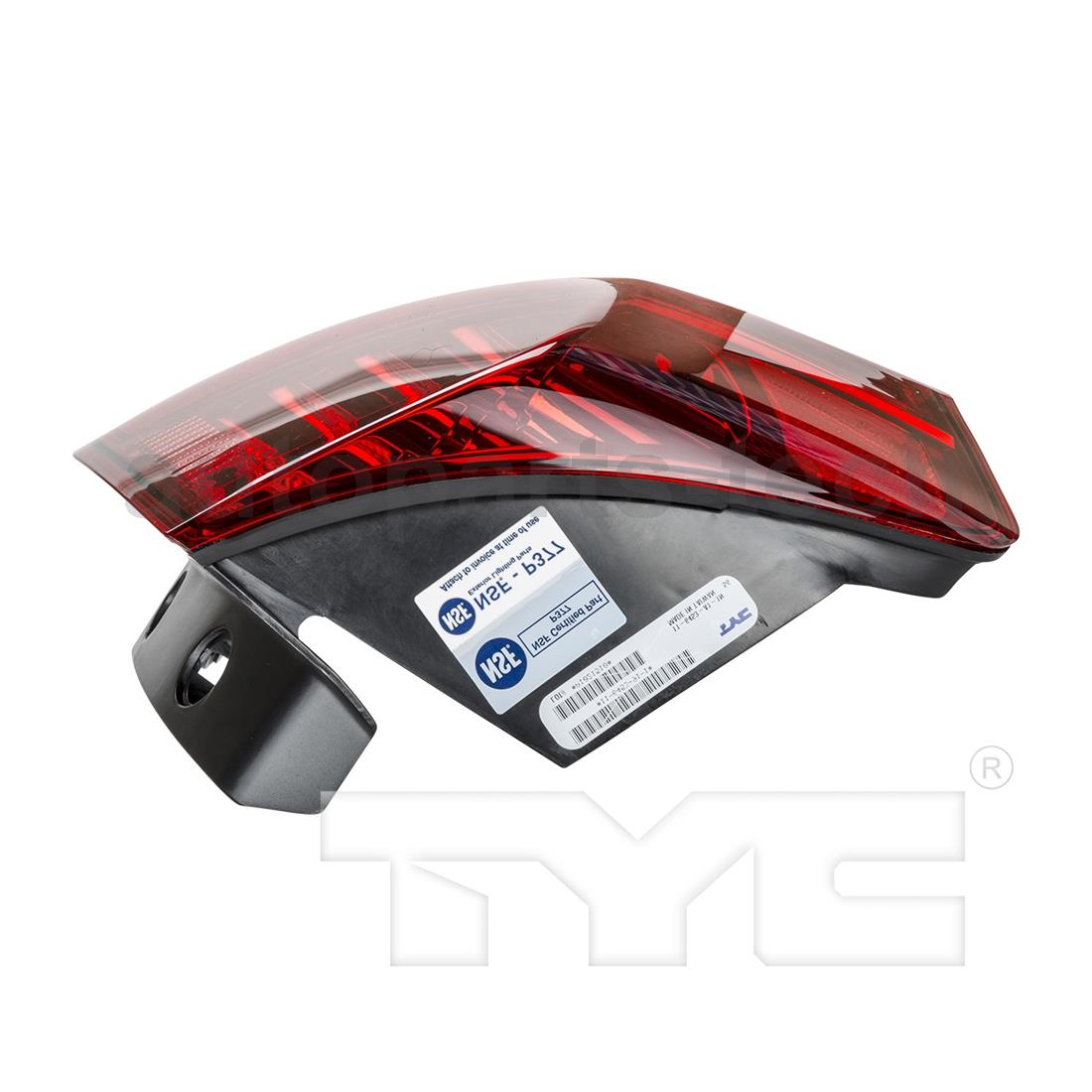 2x TYC Left Outer Right Outer Tail Light Assembly For