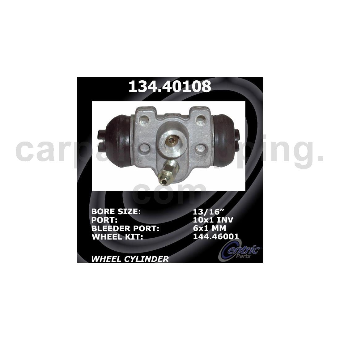 Centric Parts Drum Brake Wheel Cylinder Kit Rear 2 Of For Honda Accord