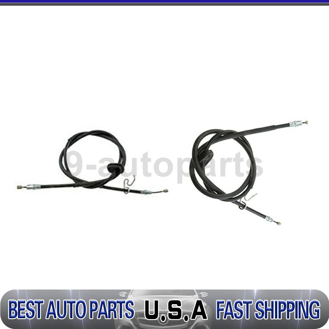 Dorman First Stop Parking Brake Cable Rear Left Rear Right 2x For Mustang Ford